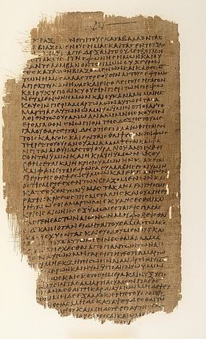 Greek MS of the Book of Enoch