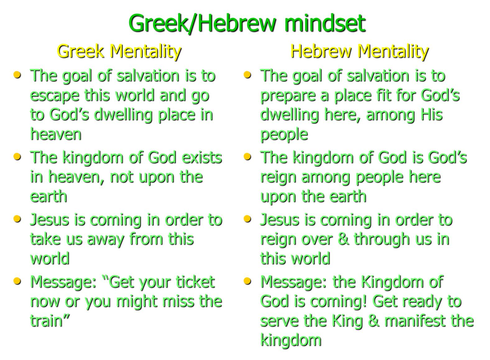 Why do people tend not to read the Bible in Greek and Hebrew?