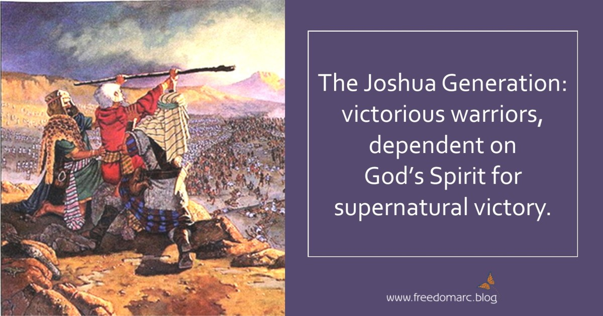 77. Characteristics of the Joshua Generation (#1-5)