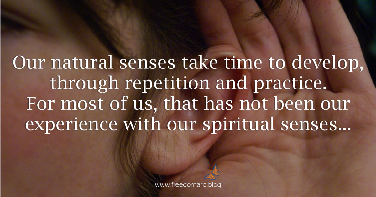 109. Developing Our Spiritual Senses