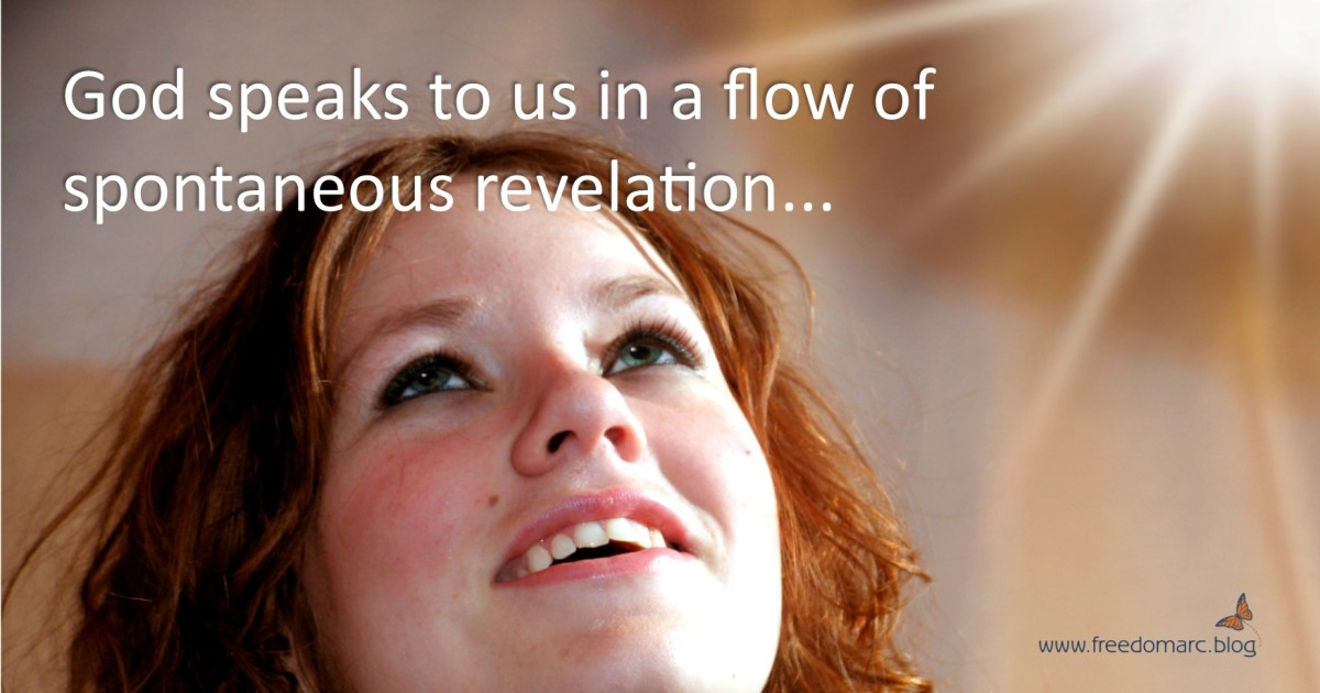 158. A Flow of Spontaneous Revelation