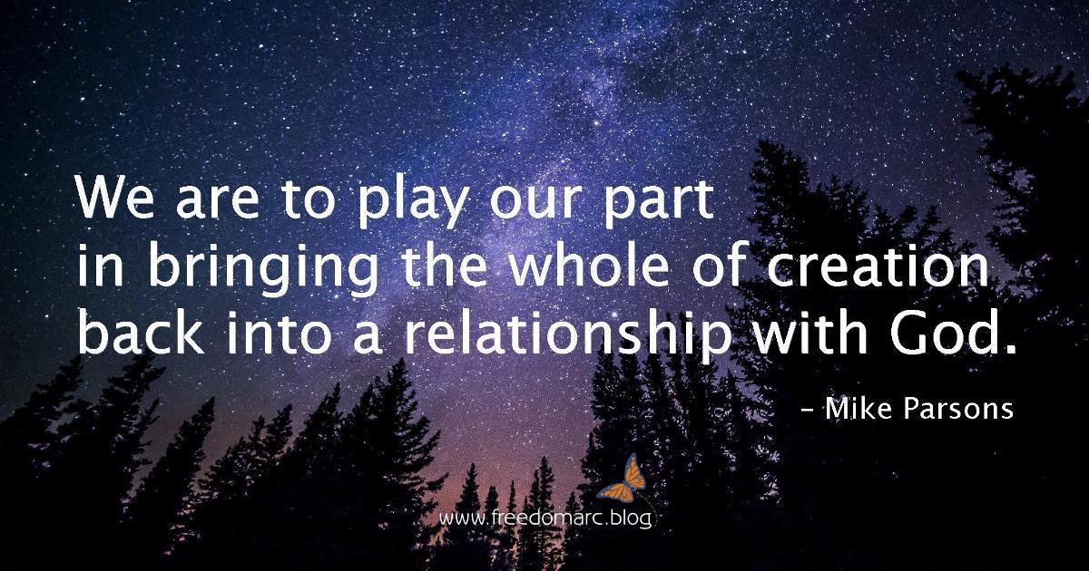 creation relationship