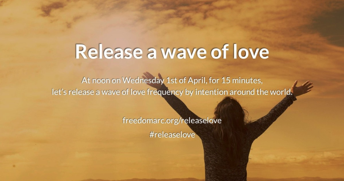 Release a wave of love frequency